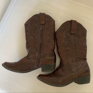 Girls Size 3 Cowboy Boots